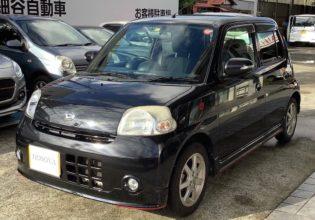ダイハツ エッセ カスタム2009年式¥188,000(総額¥268,000)
