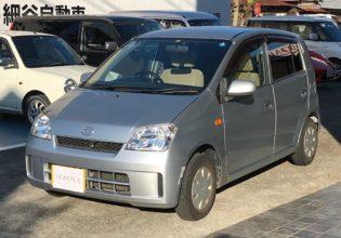 ミラ Lリミテッド1.4万Km 2004年式¥108,000(総額¥188,000)
